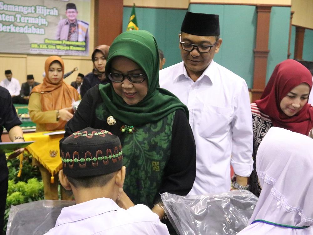 Memperingati Tahun Baru Islam 1441 H / 2019 M yang dilaksanakan di Gedung Tegar Beriman, Selasa (10/9/2019)