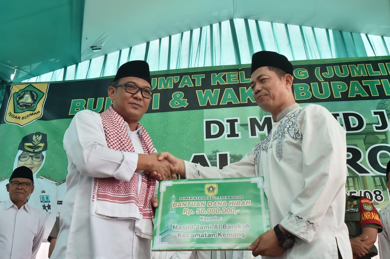 Wabup Bogor Lakukan Jumling di Kecamatan Kemang