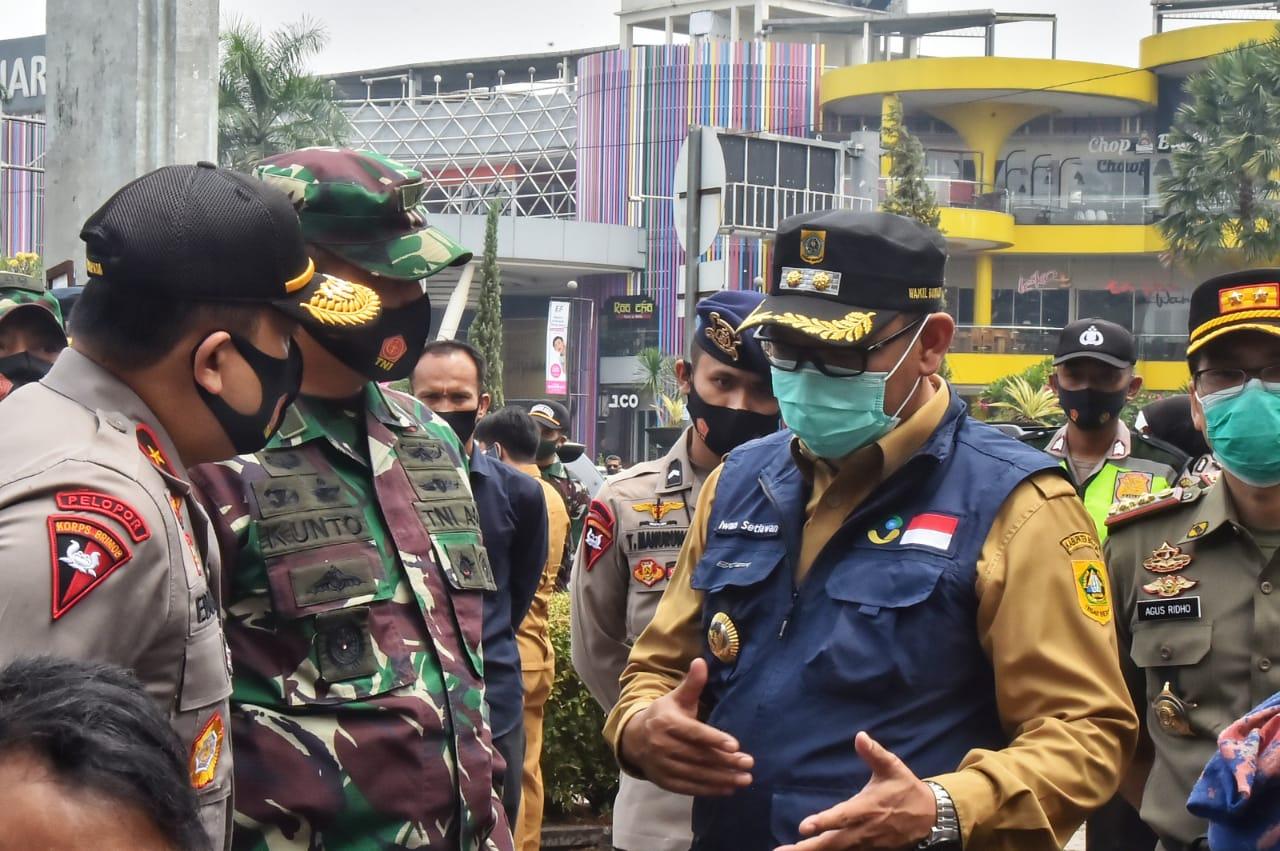 Operasi memakai masker Yustisi