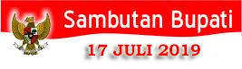 Sambutan Bupati 17 JULI 2019