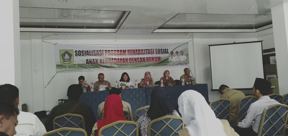 Sosialisasi Program Rehabilitas Sosial Anak Berhadapan dengan Hukum