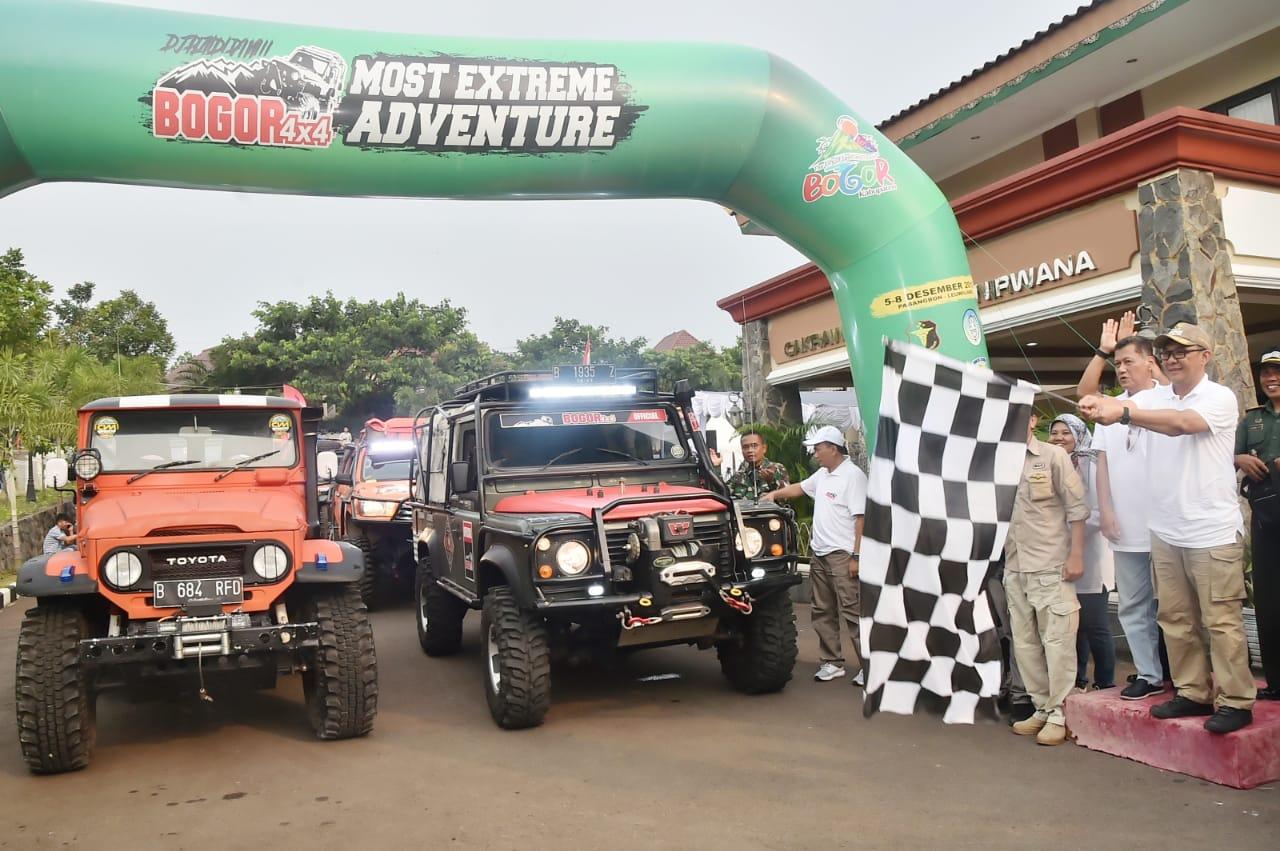 Wabup Buka Even Bogor 4x4 Most Extreme Adventur Jilid ke- 8