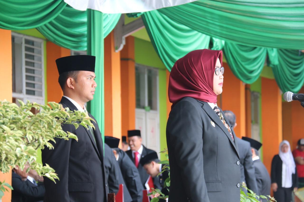 Jadi Inspektur Upacara Hari Amal Bakti, Bupati Bogor Penuhi Janjinya untuk Guru Madrasah