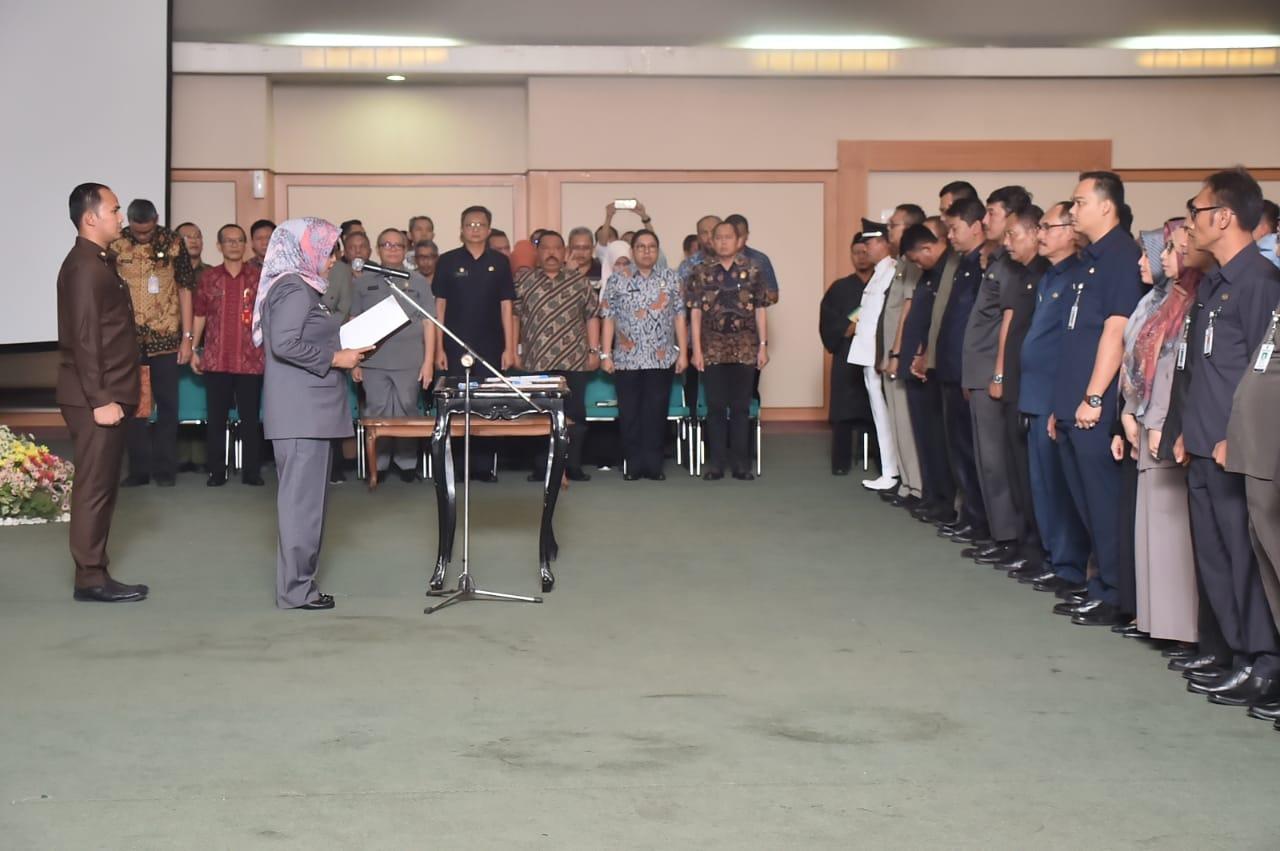 Bupati Bogor Lantik 168 Pejabat Esselon III dan IV di Lingkup Pemerintahan Kab. Bogor