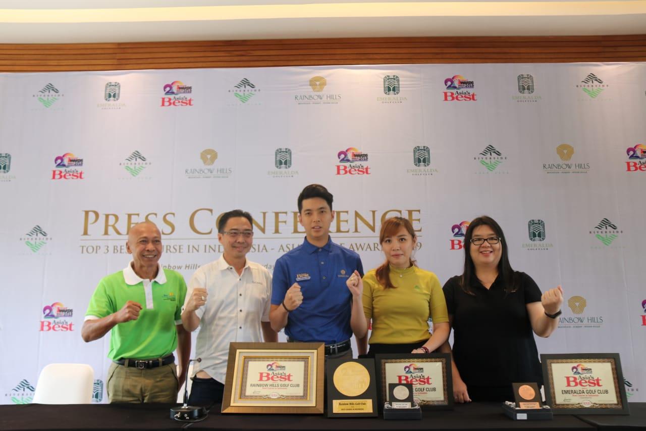 Tiga Lapangan Golf di Kabupaten Bogor  Dianugerahi Penghargaan Lapangan Golf Terbaik di Indonesia