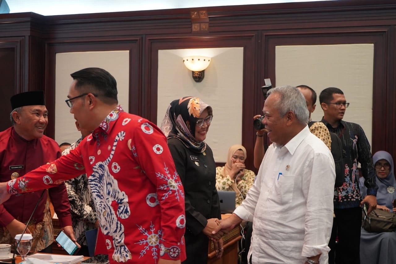 Bupati Bogor Temui Menteri PUPR dan Gubernur Jabar Bahas Penanganan Bencana