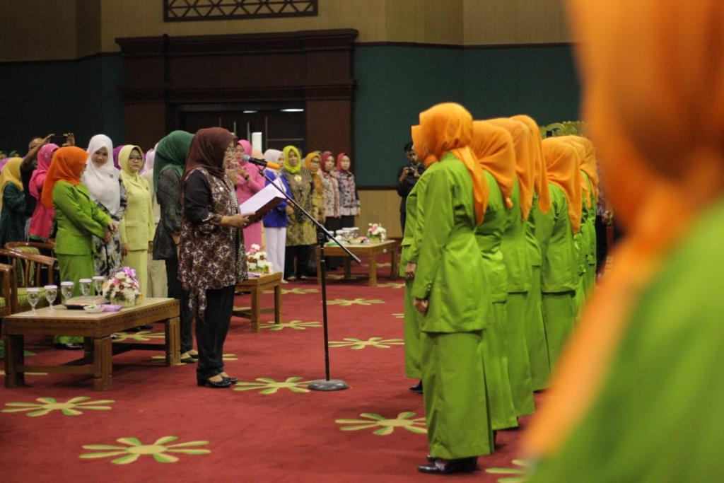 Bupati Bogor Melantik Pengurus GOW Periode 2019 - 2024