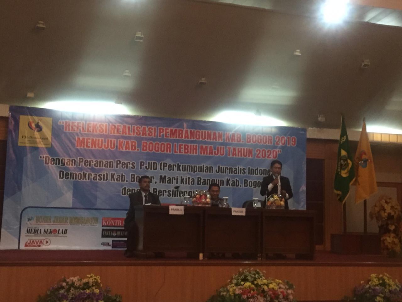 PJID Kab.Bogor bersinergi dengan Pemerintah Kabupaten Bogor untuk mewujudkan Kabupaten Bogor lebih maju