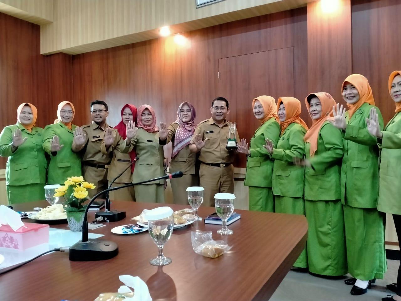 Jadi Wadah 58 Organisasi Perempuan GOW Kabupaten Bogor Jalin Kolaborasi dan Kerjasama Dengan Diskominfo Kabupaten Bogor
