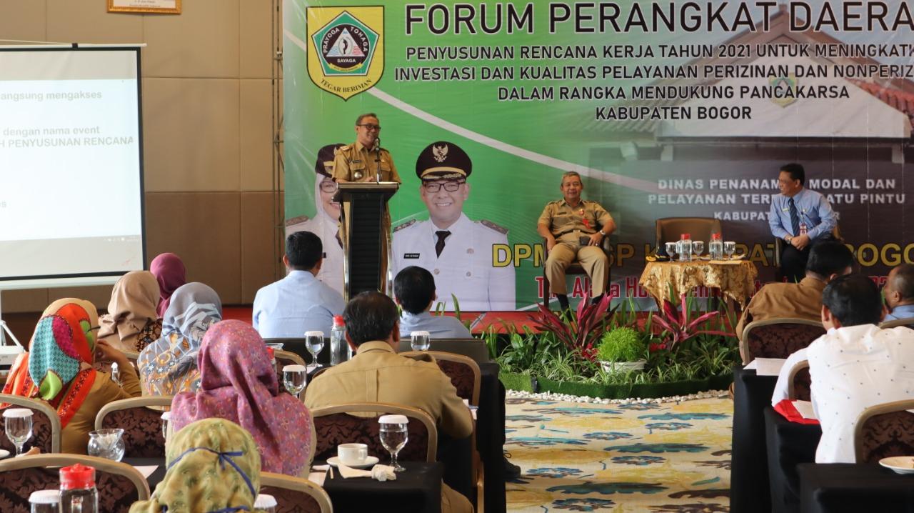 Iwan Setiawan Ingin Sinergitas Dan Harmonisasi Antar OPD dalam mewujudkan Panca Karsa