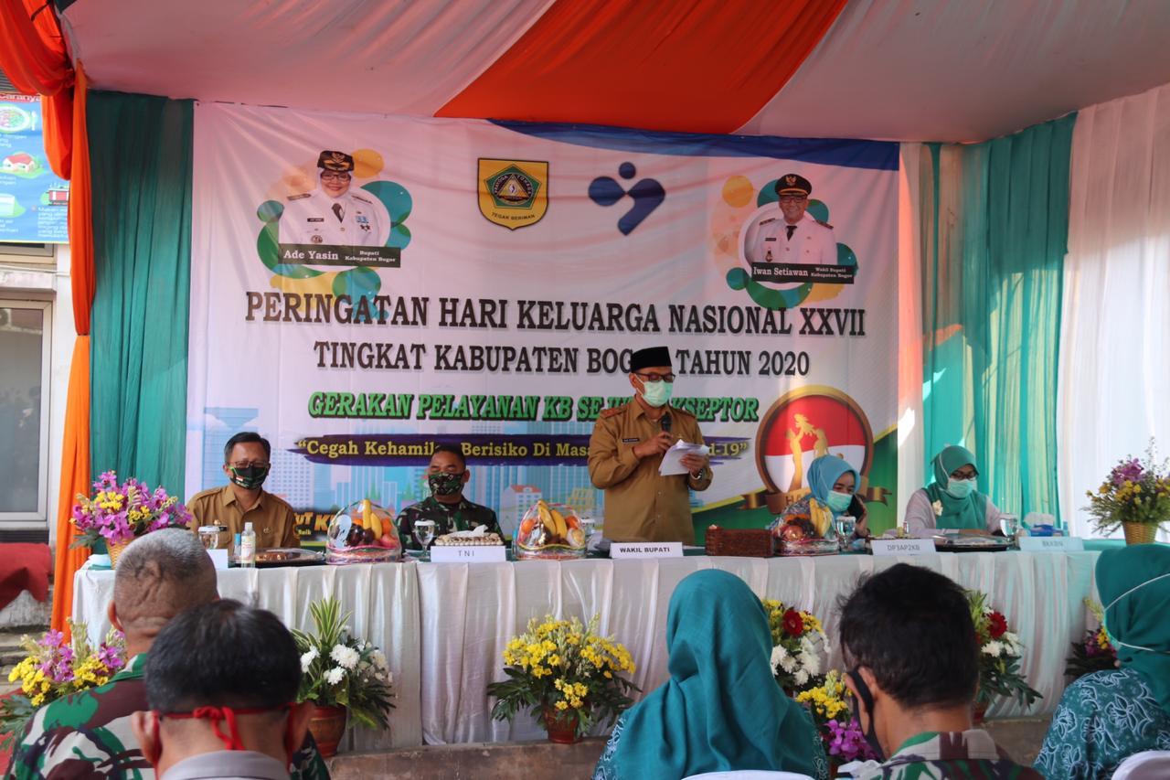 Wabup Hadiri Harganas Ke-27 Tingkat Kabupaten Bogor