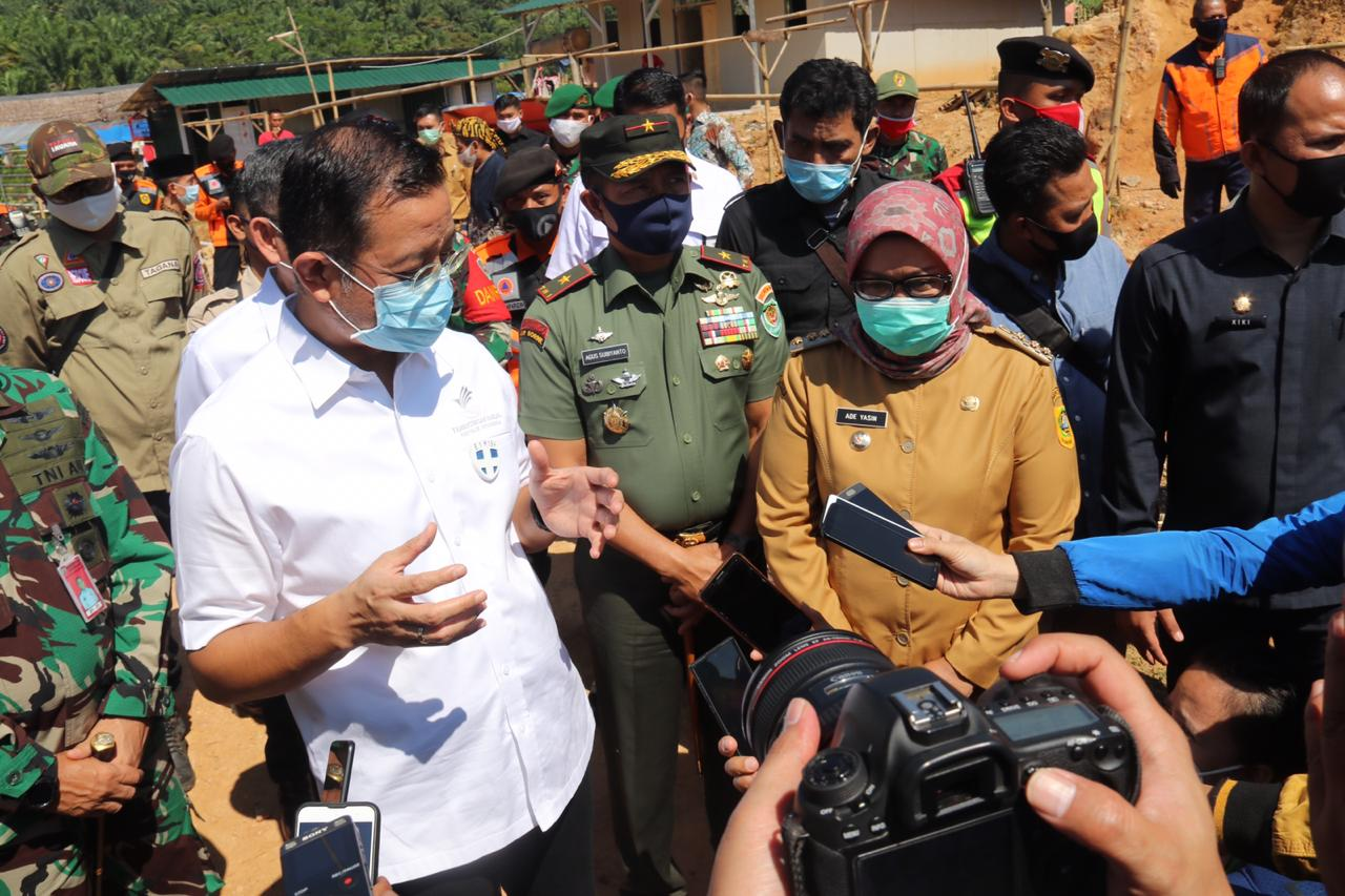 Bupati Bogor Resmikan 1.753 Unit HUNTARA Untuk Korban Bencana Alam Sukajaya dan Leuwisadeng