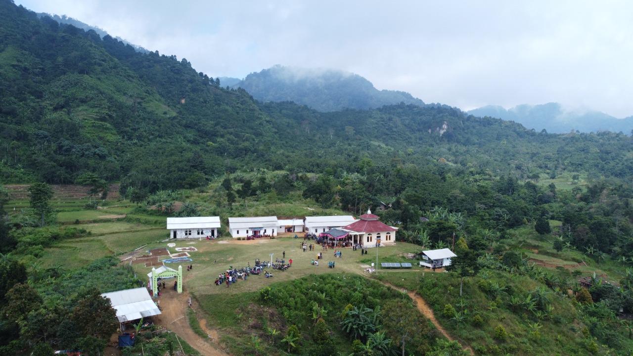 Bupati Bogor Resmikan Kampung Tangguh di Ujung Timur Sukamakmur