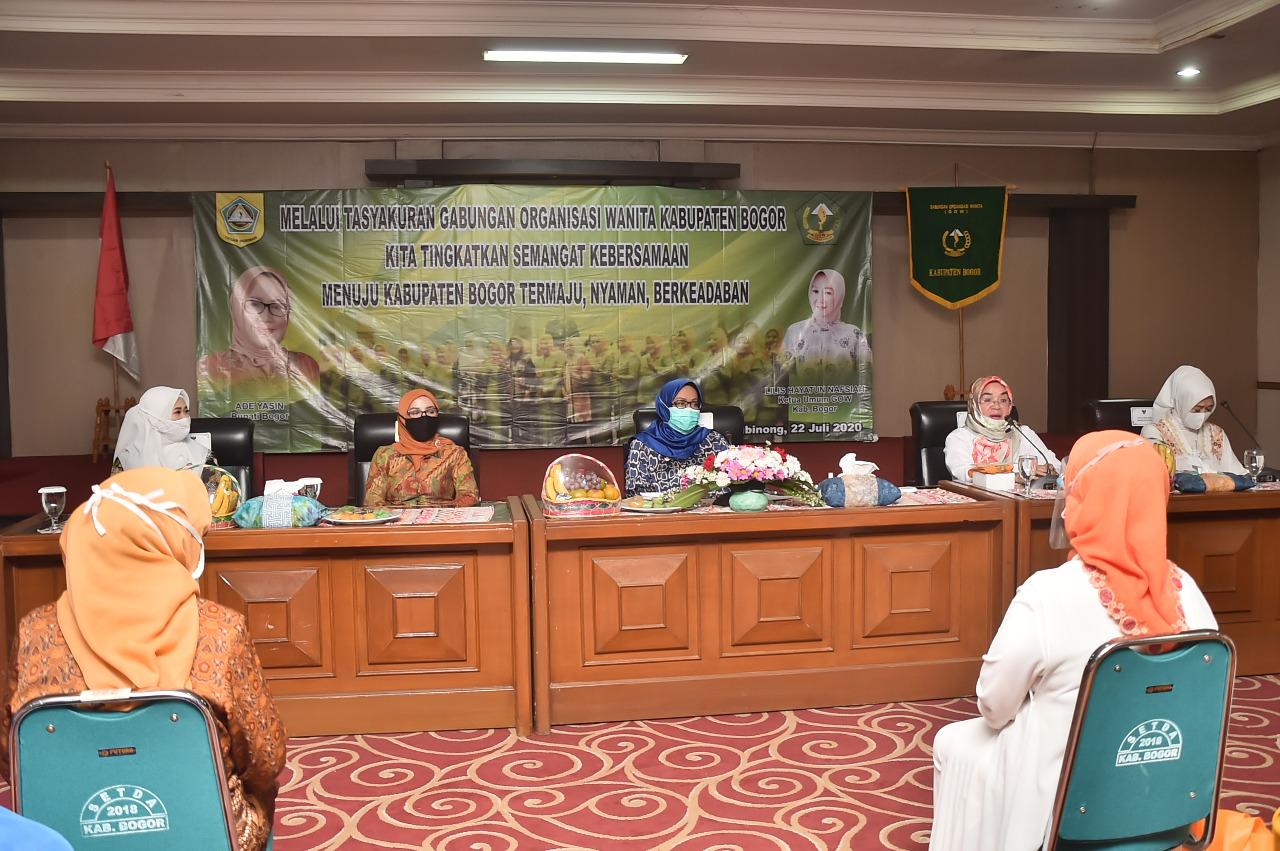 Tingkatkan Kualitas dan Peran GOW Kabupaten Bogor Ade Yasin Resmikan Gedung EX Korpri Sebagai Sekretariat GOW