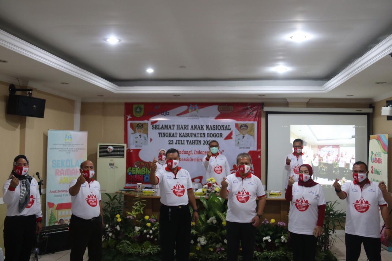 Wabup Bogor: Jadikan Peringatan Hari Anak Nasional Sebagai Momentum Komitmen Pemenuhan Hak Anak