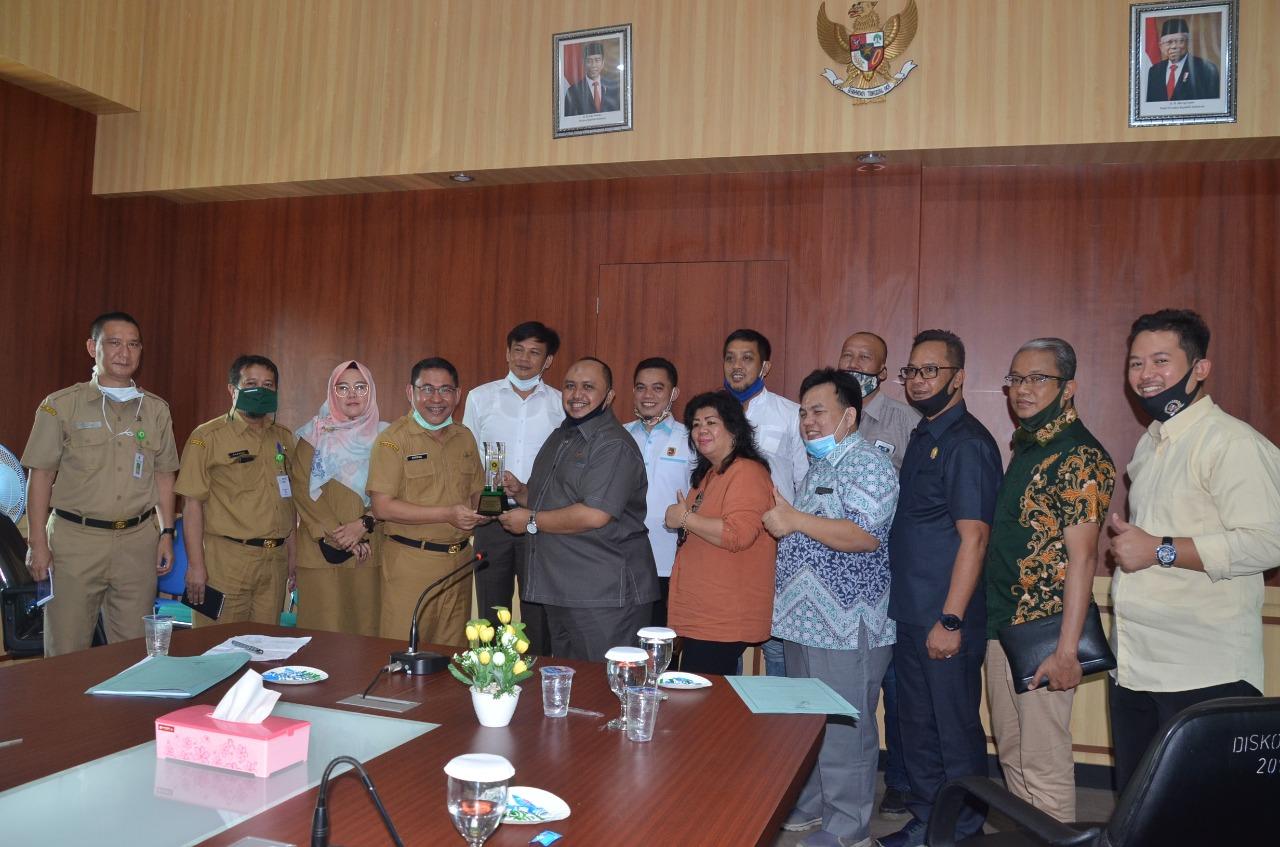 Tingkatkan Pemanfaatan Teknologi Informatika di Tengah Pandemi Covid-19 Komisi III DPRD Kota Bogor Kaji Banding Ke Diskominfo Kab.Bogor