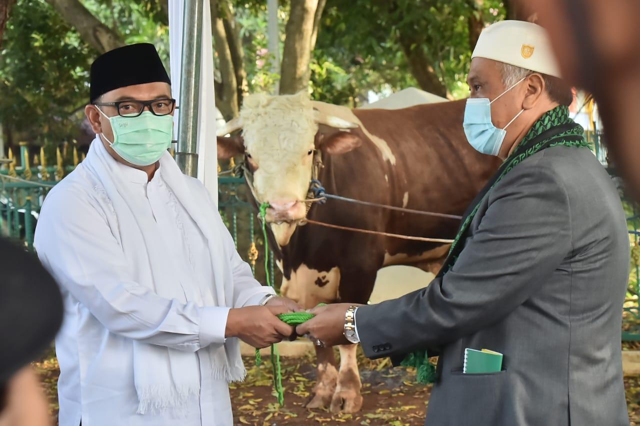 Wakil Bupati Bogor Laksanakan Sholat Idul Adha Bersama Masyarakat