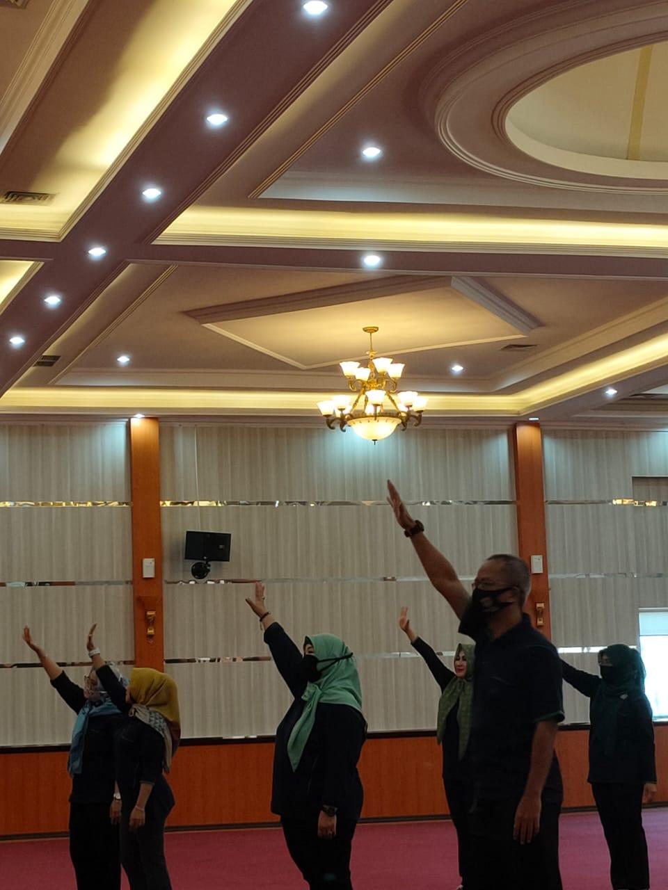 Peringati Haornas ke-37 Bappenda Kabupaten Bogor Lakukan Senam  Pancakarsa Secara Daring