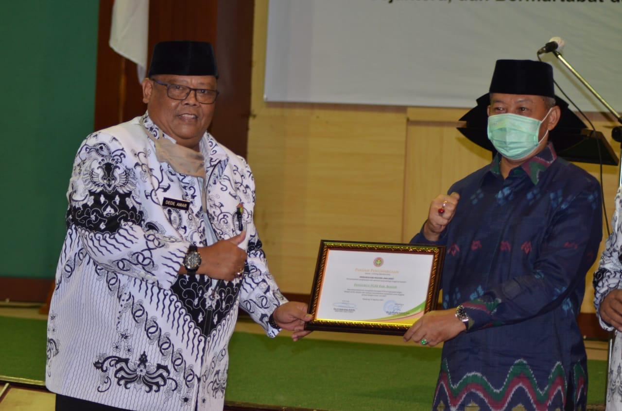 Sekda Kabupaten Bogor ingin PGRI Berinovasi di Masa Pandemi  Covid-19