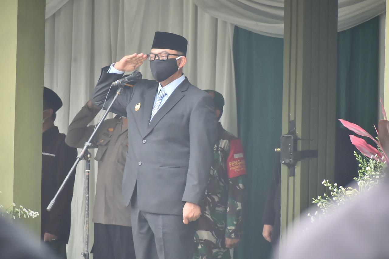 Wabup Bogor Pimpin Upacara HAB Ke-75 Tingkat Kabupaten Bogor