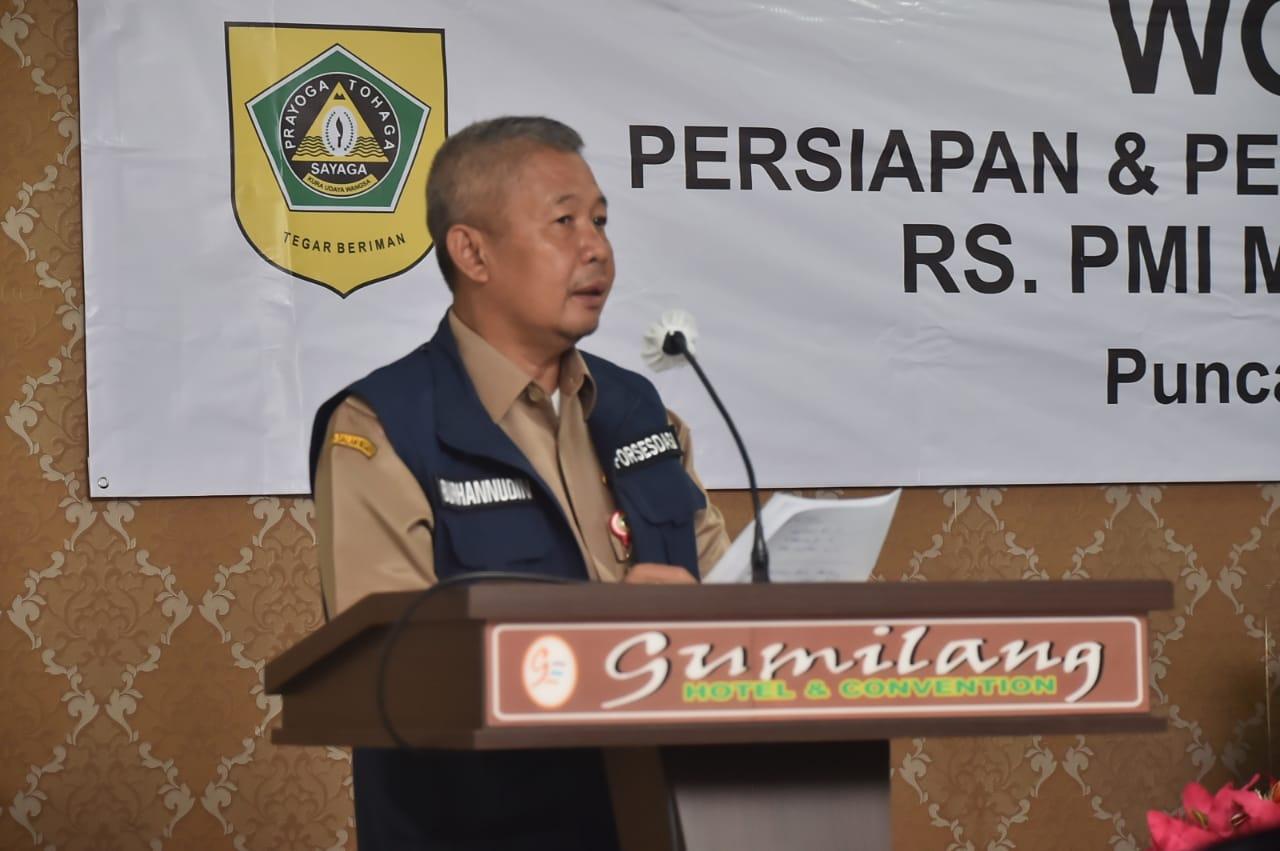 PMI Kabupaten Bogor Segera Bangun Rumah Sakit di Wilayah Utara Kabupaten Bogor