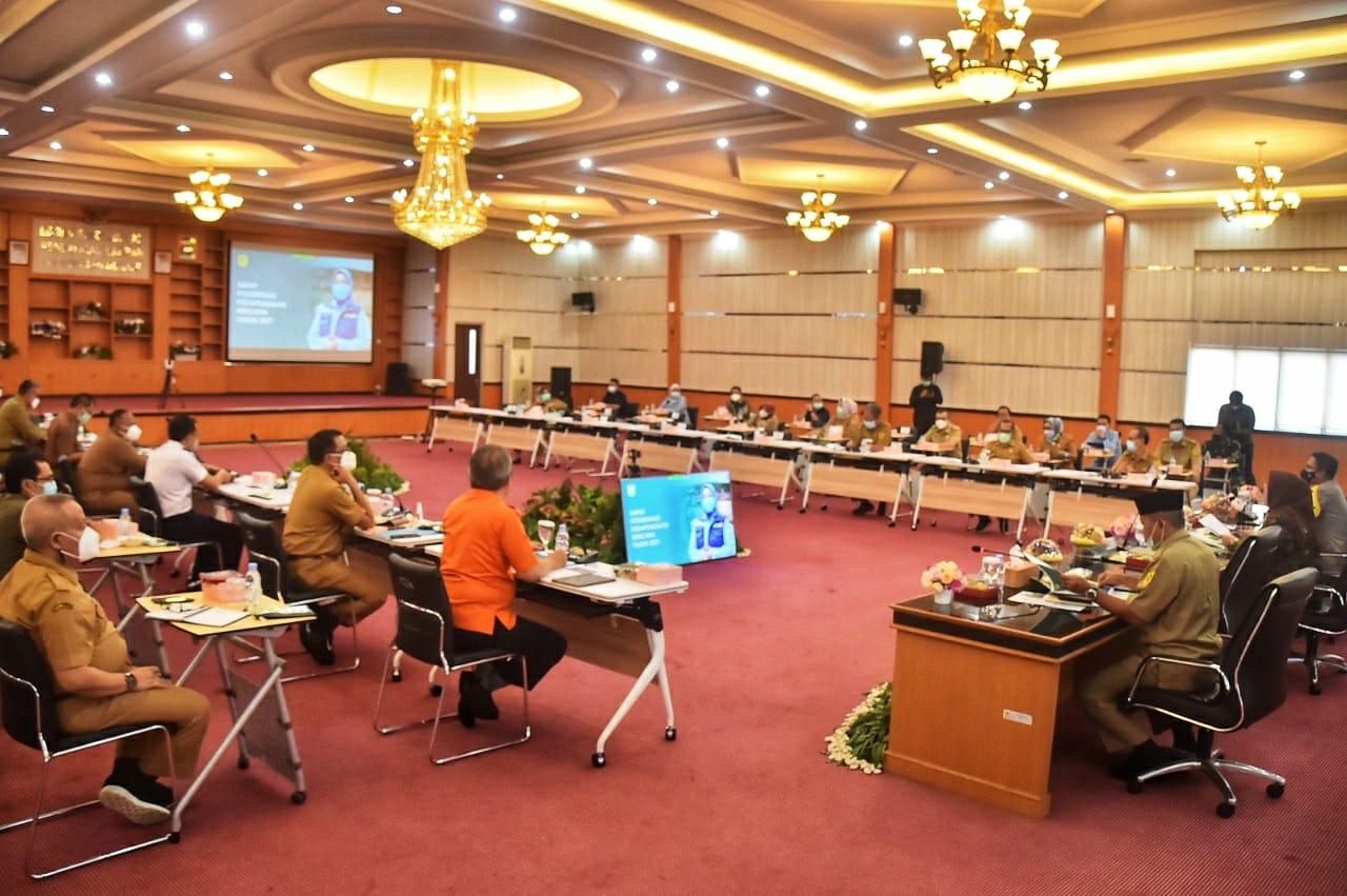 Bupati Bogor Minta Maksimalkan Mitigasi Bencana Untuk Mencegah dan Memperkecil Resiko Bencana
