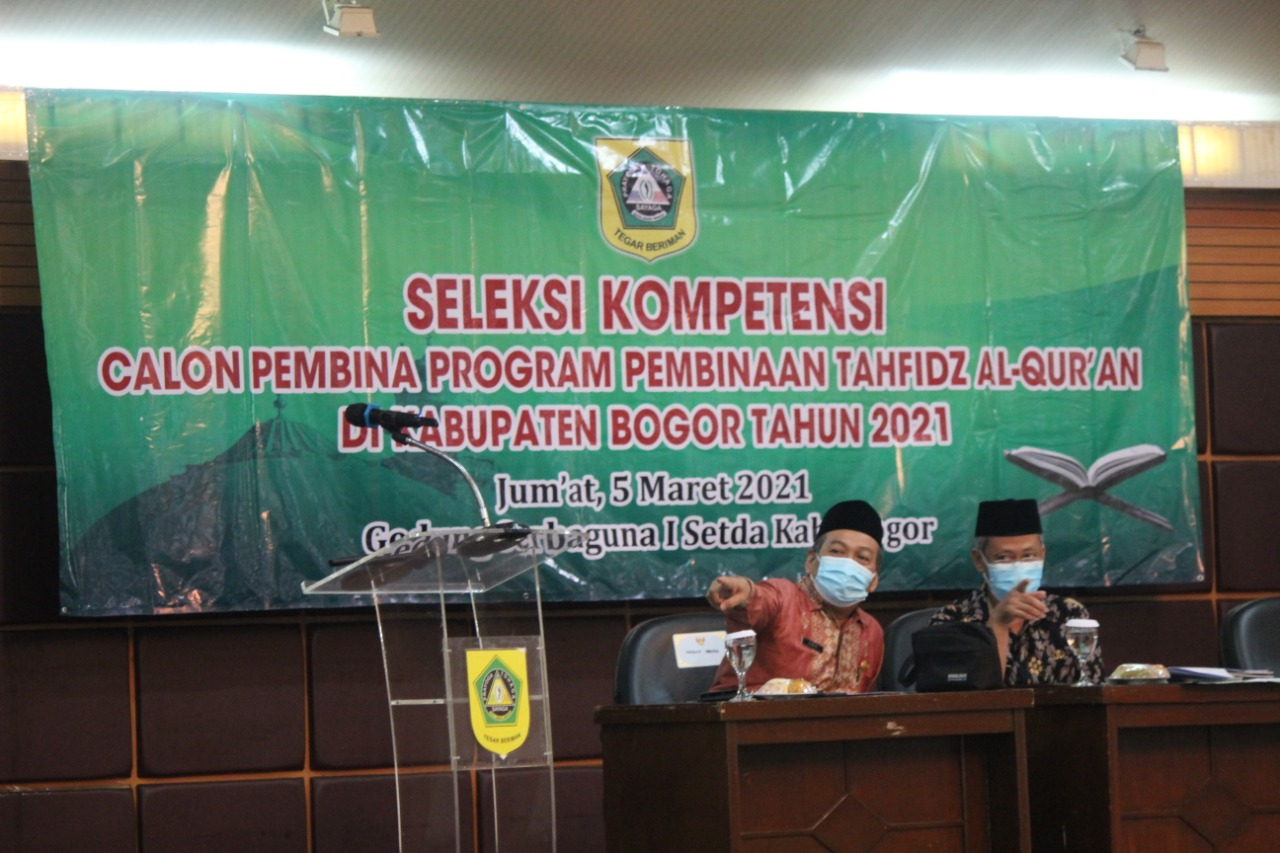 Pemkab Bogor Gelar Seleksi Kompetensi Terhadap Calon Pembina Hafidz Al-Qur'an Kabupaten Bogor