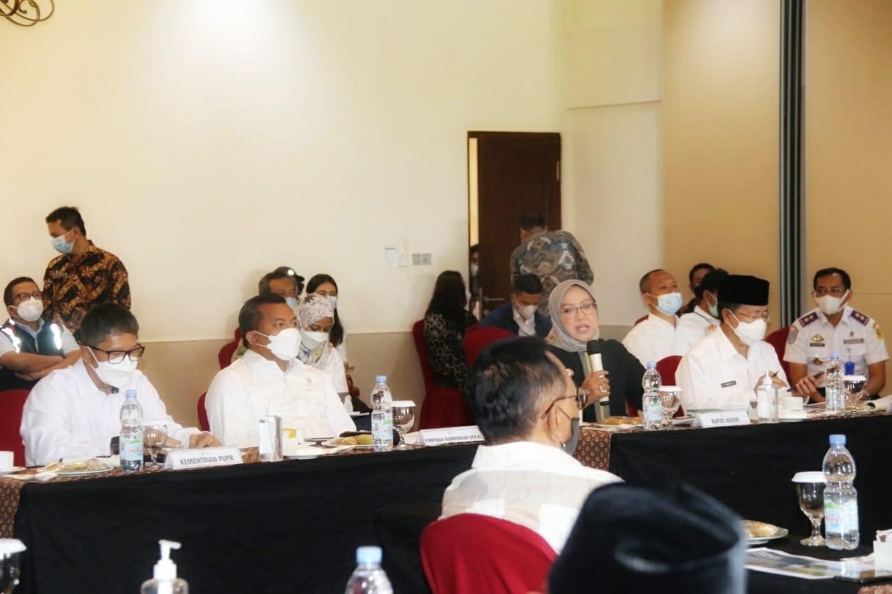 Bupati Bogor Optimis Jalur Puncak 2 Dapat Mendongkrak Perekonomian Masyarakat Bogor Timur