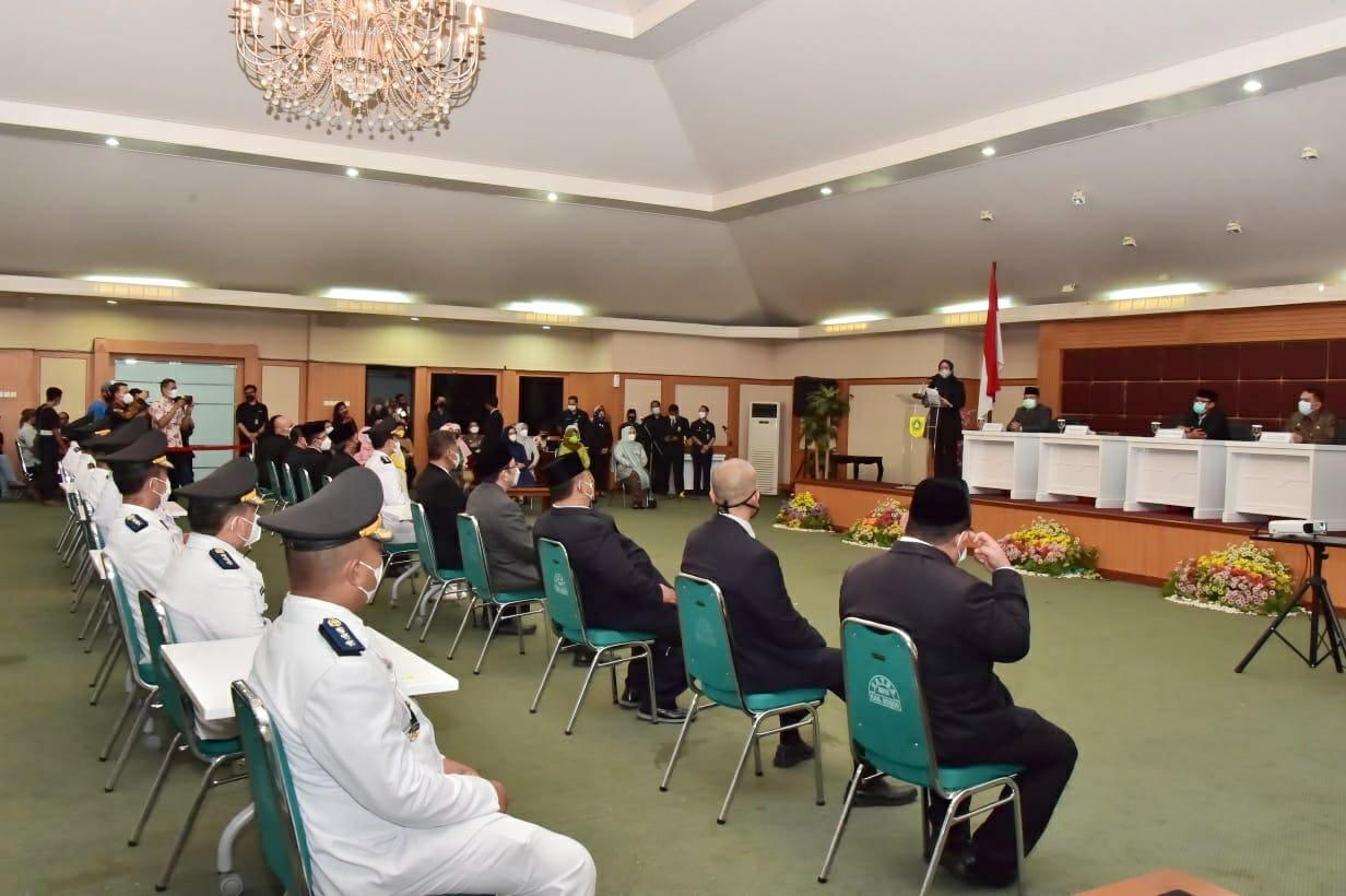 Lantik Pejabat Esselon II, III dan IV Bupati Bogor Minta Para Pejabat Bekerja dengan Profesional dan Inovatif