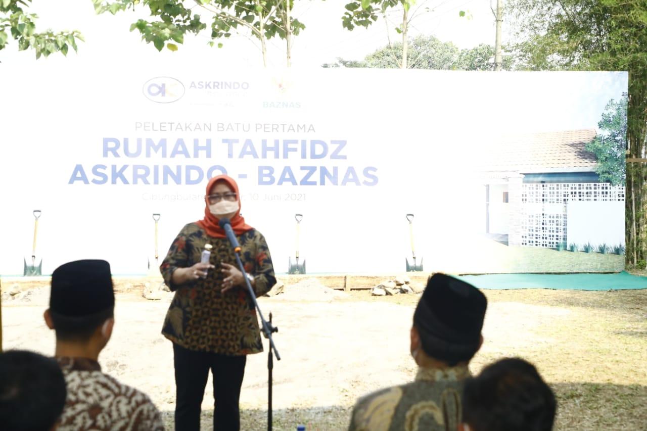 Bupati Bogor Dukung Penuh Pembangunan Rumah Tahfidz untuk Mendorong Terwujudnya 1.000 Hafidz Al-Quran di Kabupaten Bogor