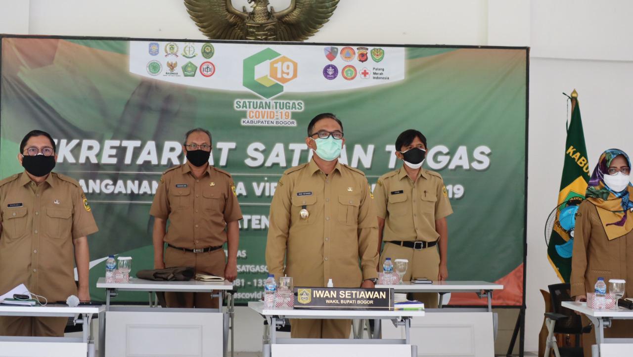 Wabup Iwan Ikuti Arahan Gubernur Soal Pengendalian Inflasi Daerah