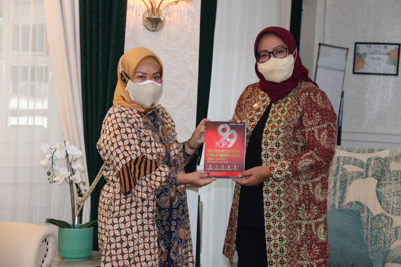 Kemenpan RB Puji Gerai Pelayanan Publik Kabupaten Bogor