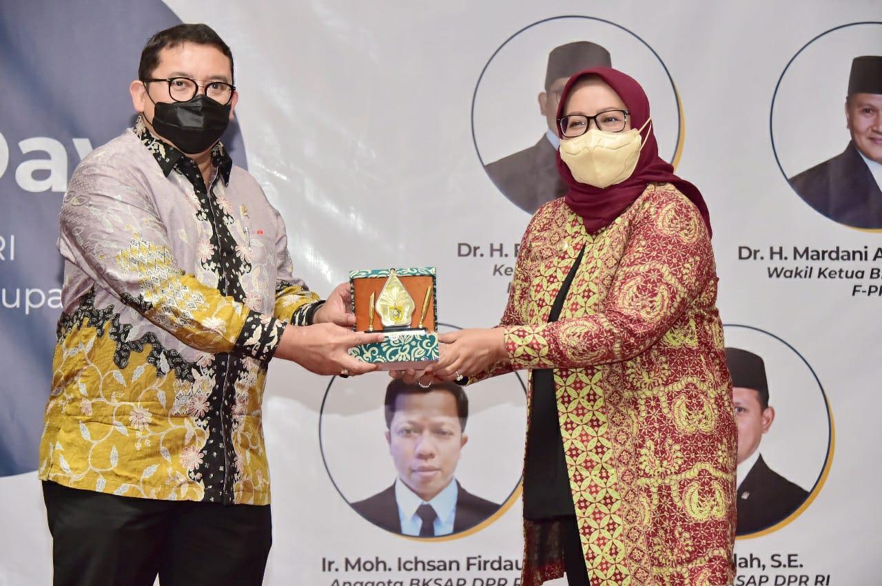 Bupati Bogor Paparkan 17 Tujuan SDG's di Kegiatan Kunker BKSAP DPR RI