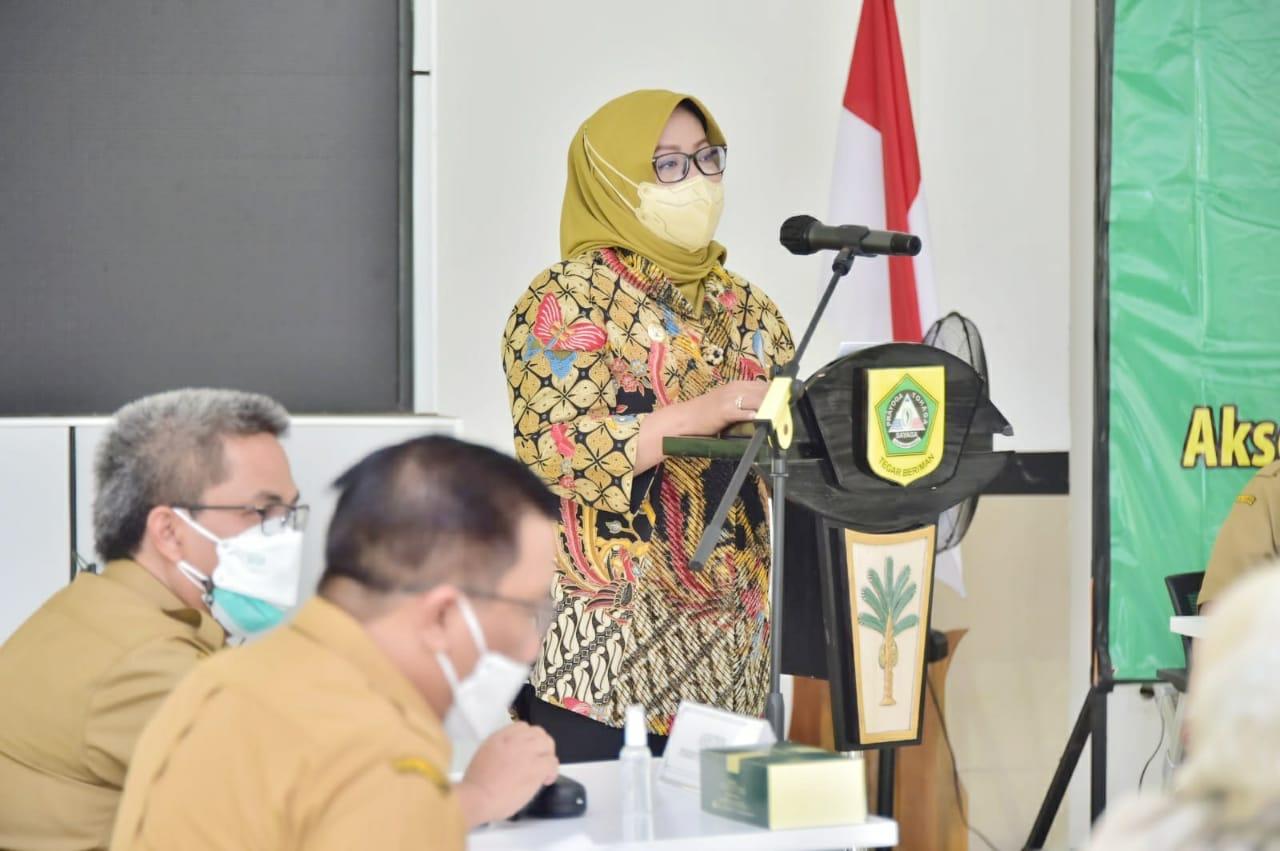 Bupati Bogor Ajak Para Camat dan Kades Se-Kabupaten Bogor Rembuk Stunting Secara Virtual Untuk Wujudkan Bogor Bebas Stunting