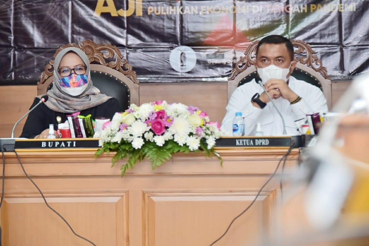 Bupati Bogor Jabarkan Strategi Pemulihan Ekonomi Pada Podcast FGD  Pemulihan Ekonomi Daerah