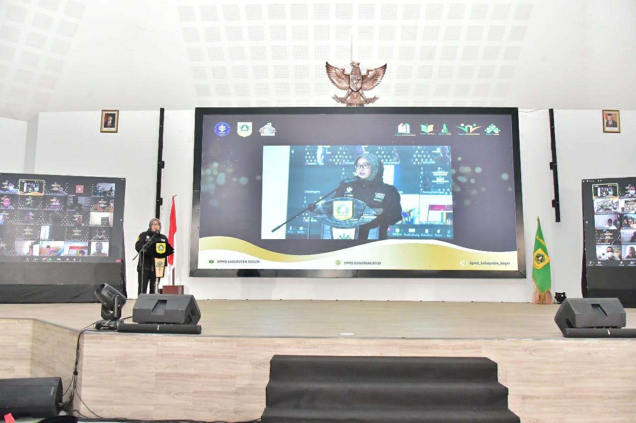 Bupati Bogor Apresiasi Desa Pondok Udik Masuk IDM Tertinggi Di Indonesia