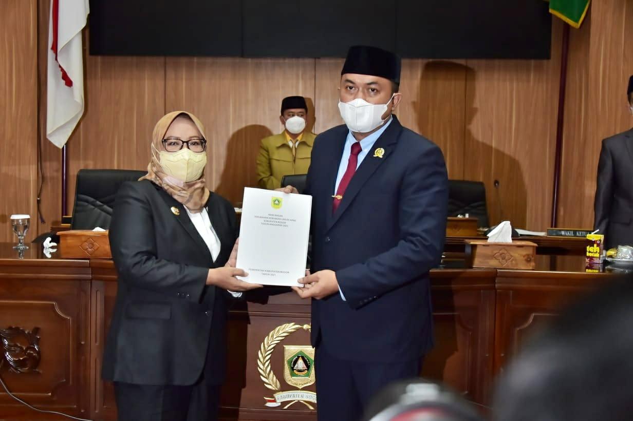 Bupati Bogor Usulkan Propemperda Tahun 2021 Kepada DPRD