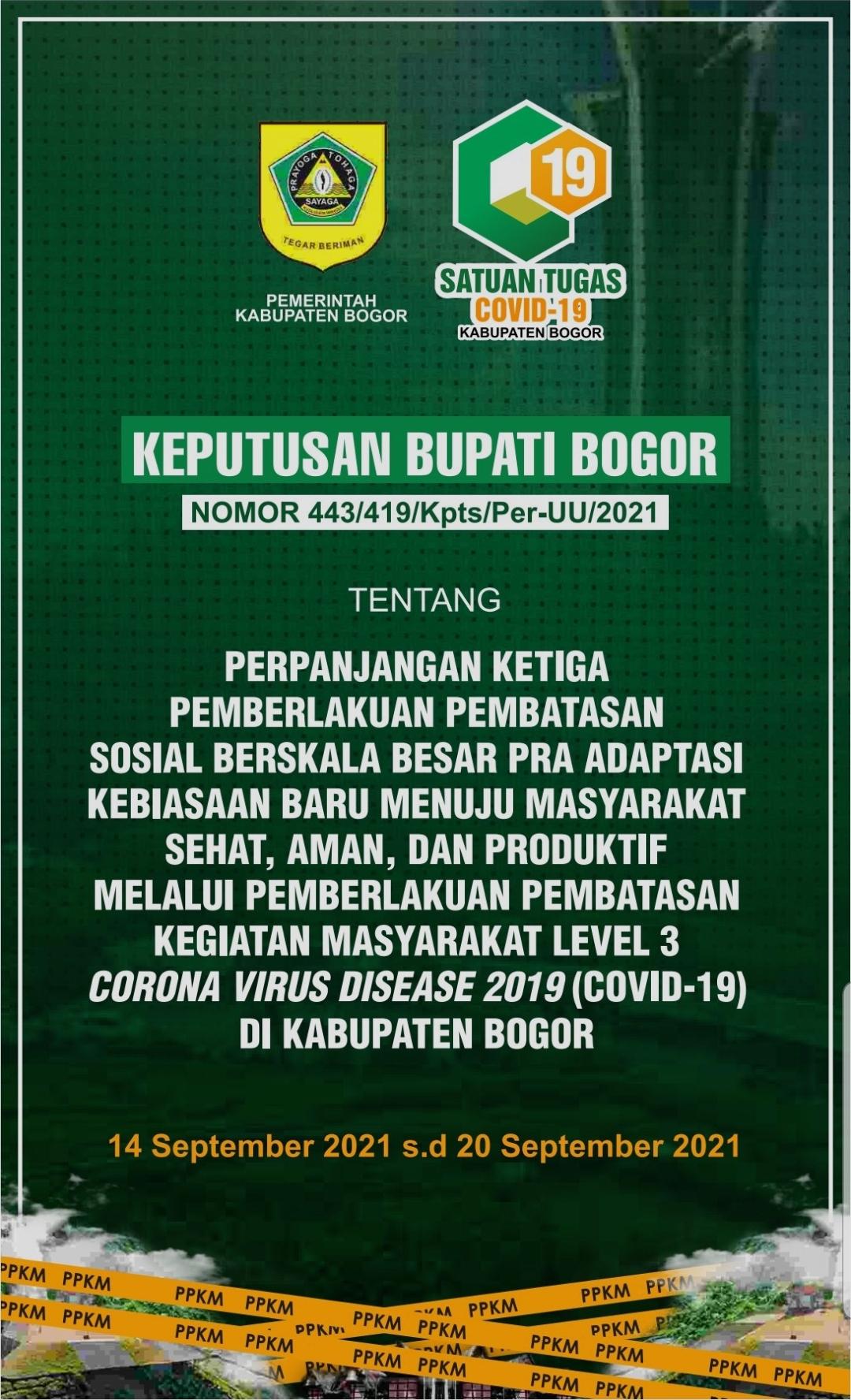 Perpanjangan Ketiga PPKM Level 3, Kabupaten Bogor Uji Coba Pembukaan Bioskop Dengan Protokol Kesehatan Yang Ketat