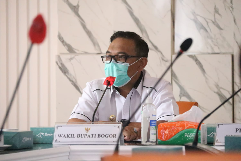 Wakil Bupati Bogor Berharap Kunjungan Ombudsman Ke Kabupaten Bogor Dapat Mendorong Terwujudnya Pemerintahan Yang Efektif