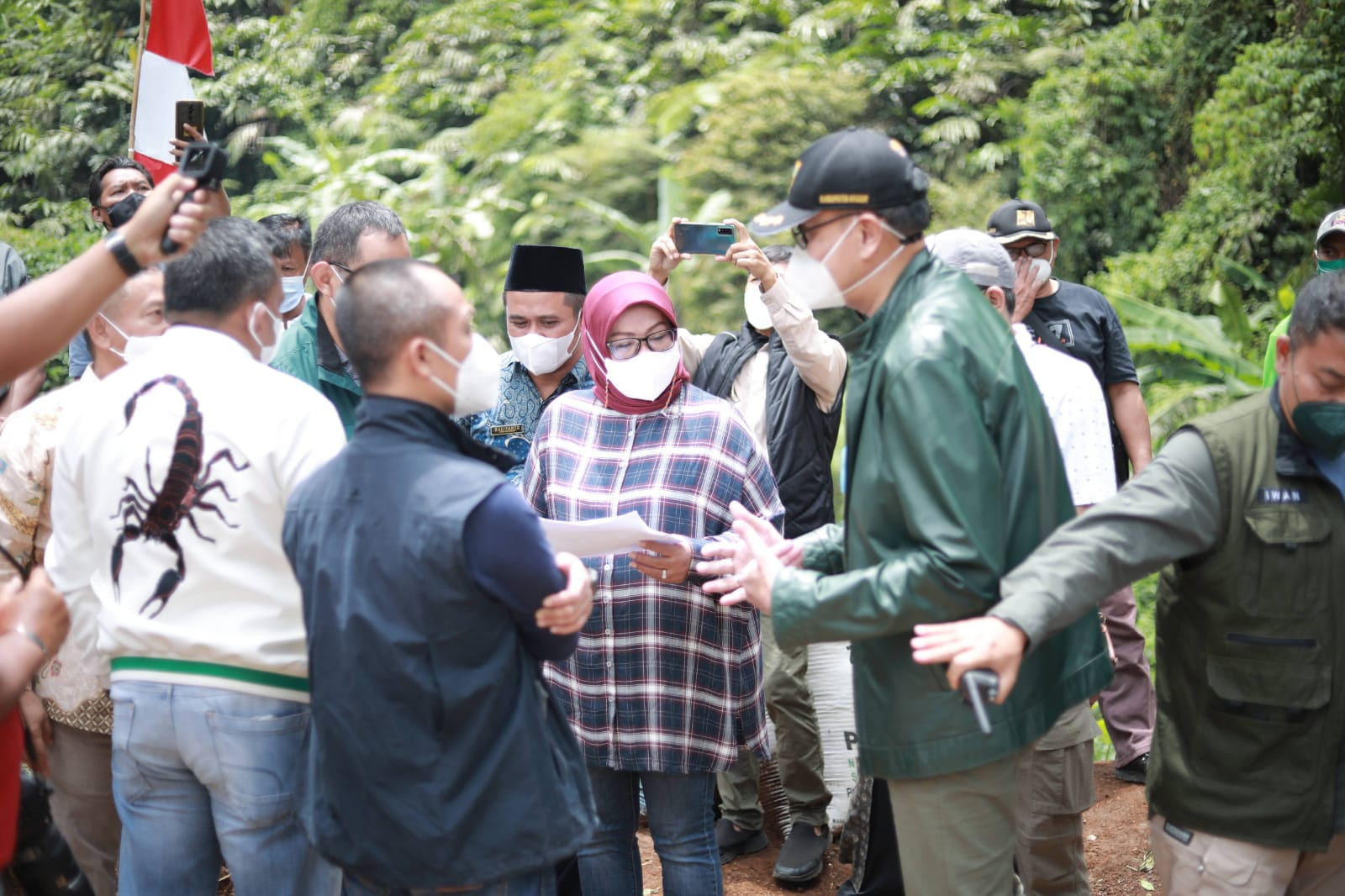 Dorong Realisasikan Jalur Puncak 2 Bupati Bogor Bersama Forkopimda dan Komisi V DPR RI Tinjau Lokasi