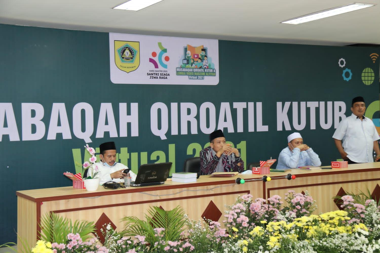 Meriahkan Hari Santri Pemkab Bogor Gelar Lomba Musabaqah Qiroatil Kutub (MQK) secara virtual dan lomba Video Nadzom Alfiyah