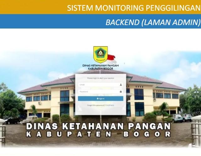 DKP Kabupaten Bogor Punya Inovasi SiGili Untuk Pantau Stok dan Harga Gabah/Beras Di Penggilingan