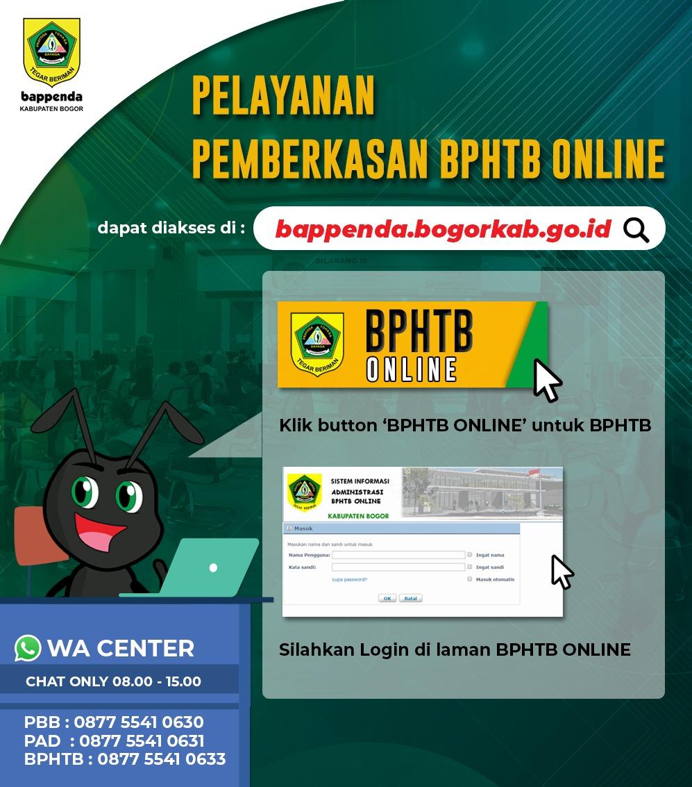 Bappenda Kabupaten Bogor Tingkatkan Layanan Dengan Inovasi Berbasis Online
