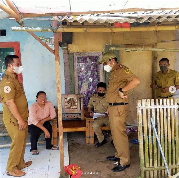 Monitoring Calon Penerima Bantuan Rutilahu di Desa Tenjo