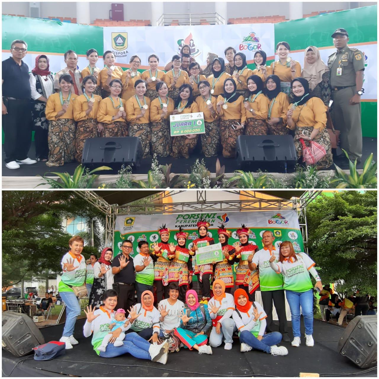 Porseni Perempuan Tingkat Kabupaten Bogor