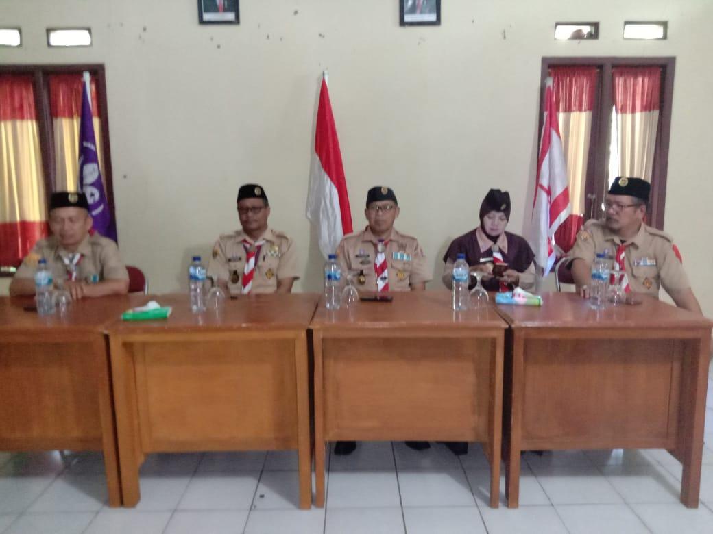 Penilaian Gerakan Pramuka Kwartir Ranting Tergiat Kecamatan Caringin