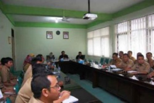 Inspektorat Kabupaten Bogor Menyelenggarakan  Pembinaan Penatausahaan Keuangan Desa