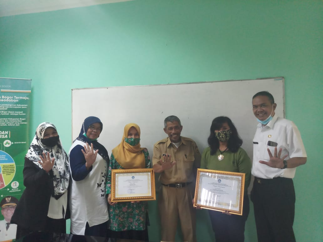 Empat Guru TK Kabupaten Bogor diganjar Penghargaan Tingkat Nasional