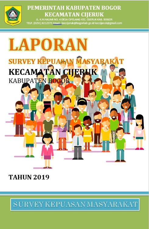 Laporan Survey Kepuasan Masyarakat Tahun 2019