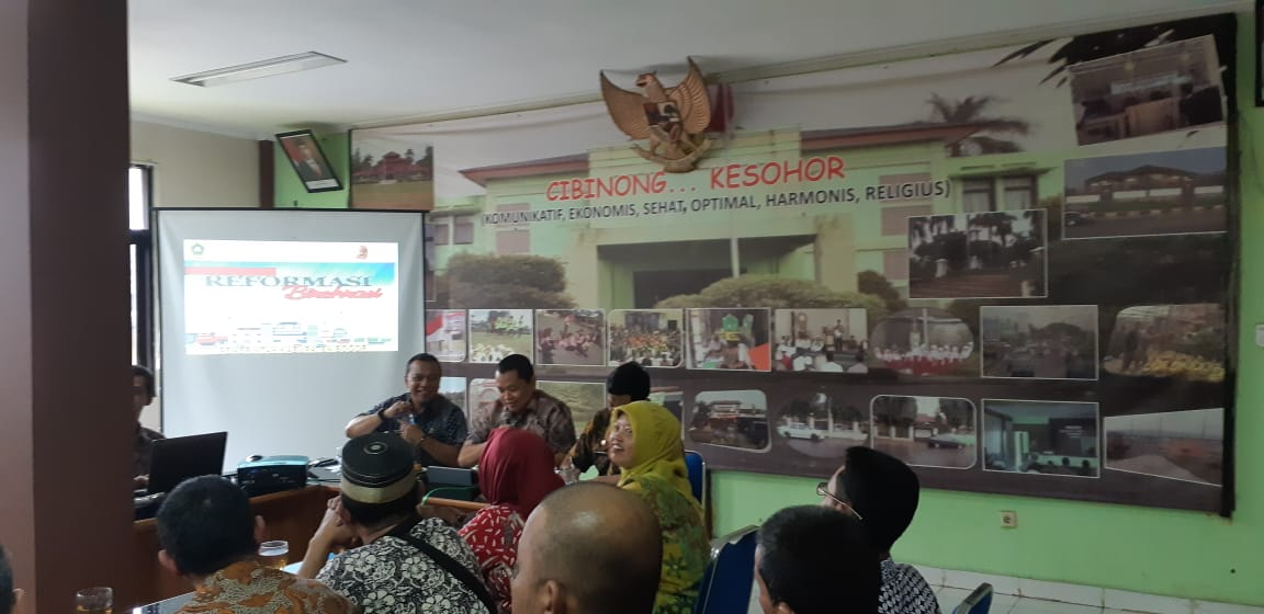 Sosialisasi Reformasi Birokrasi Pemerintah Kabupaten Bogor